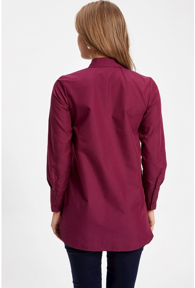 Defacto Uzun Kollu Gömlek Tunik