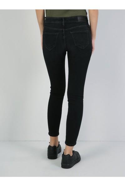 Colin's 759 Lara Dar Kesim Siyah Jean Pantolon