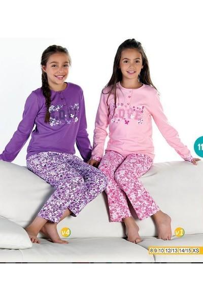 Elsima Garson Boy Kız Çocuk Pijama 1145