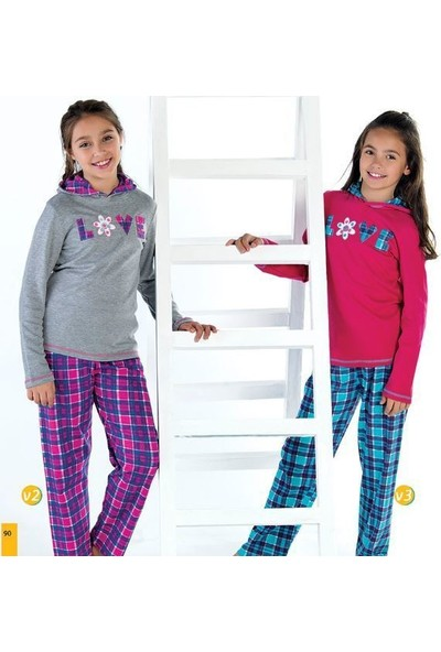Elsima Garson Boy Kız Çocuk Pijama 1146