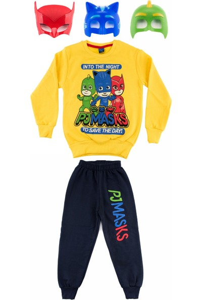 Bebebebek Pijamaskeliler Erkek Çocuk Eşofman Takımı
