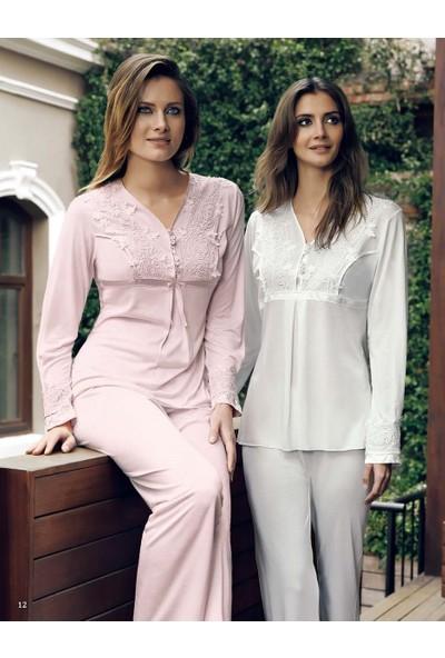 Miss Carmen Lohusa-Hamile Penye Pijama Takımı Pr2023