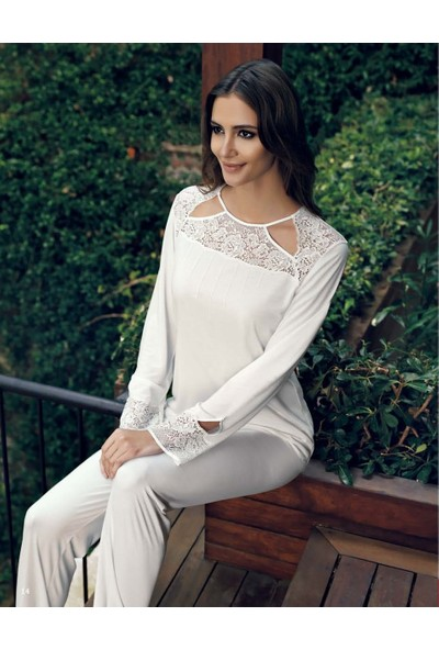Miss Carmen Lohusa-Hamile Penye Pijama Takımı Pr2024