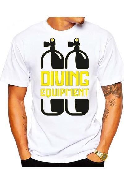 Scubapromo Diving Ekipman Erkek Dalış Tişört