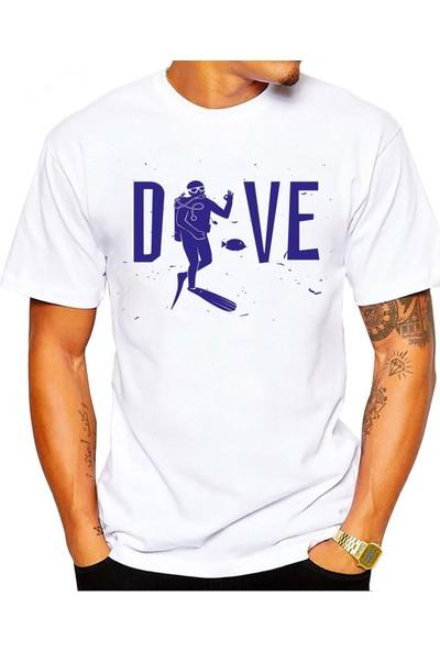 Scubapromo Dive Ok Erkek Dalış Tişört