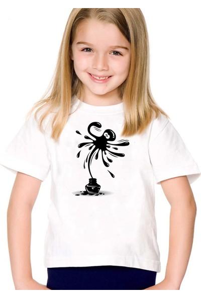 Scubapromo Firari Mürekkep Kız Çocuk Tişört