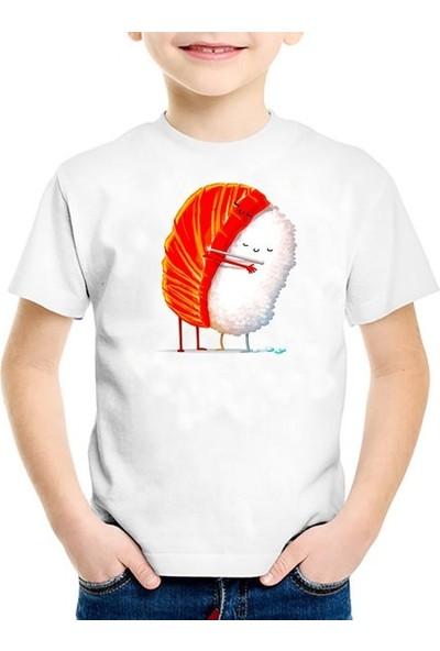Scubapromo Suşi Aşkı Unisex Çoçuk Tişört