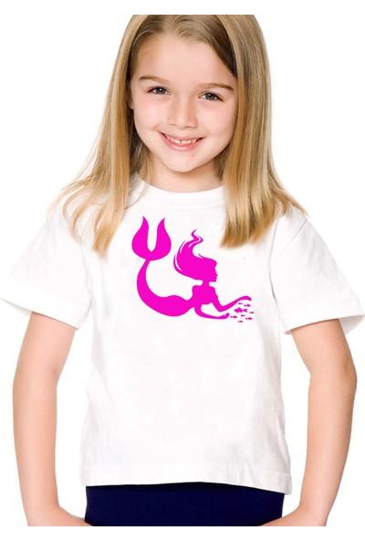 Scubapromo Mermaid Kız Çoçuk Tişört
