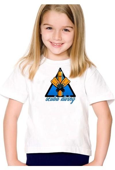 Scubapromo Scuba Diving Kız Çocuk Tişört