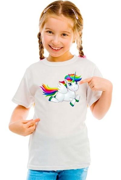 Scubapromo Beybi Unicorn Kız Çocuk Tişört