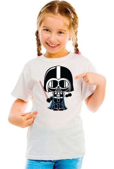 Scubapromo Darth Vader Kız Çocuk Tişört