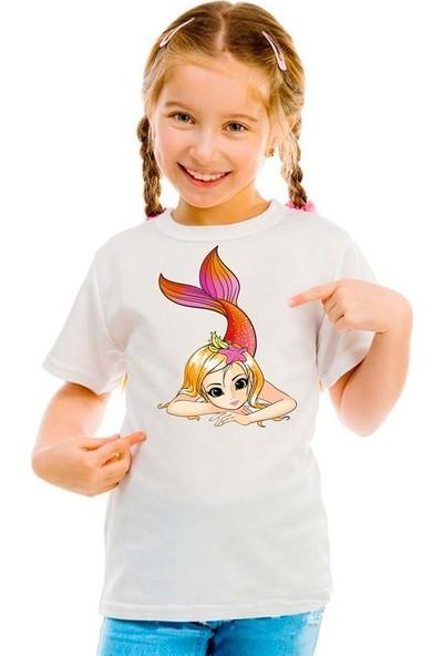 Scubapromo Deniz Kızı 1 Kız Çocuk Tişört