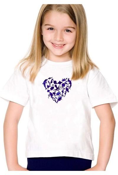 Scubapromo Scuba Love Kız Çocuk Tişört
