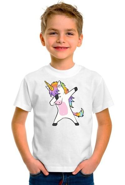 Scubapromo Unicorn Erkek Çocuk Tişört