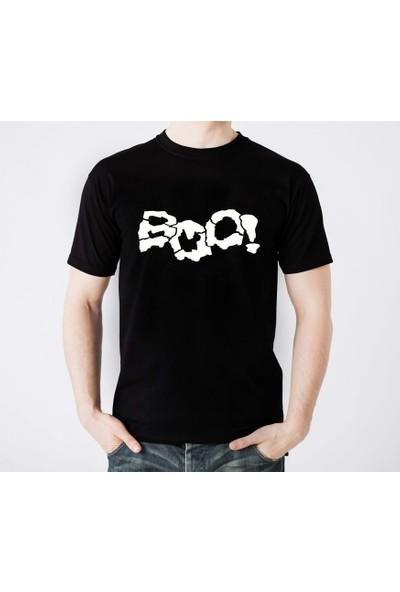 Scubapromo Boo Erkek Siyah Tişört