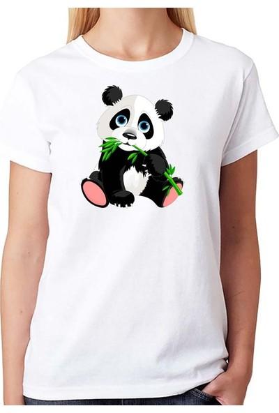 Scubapromo Sevimli Panda Bayan Tişört