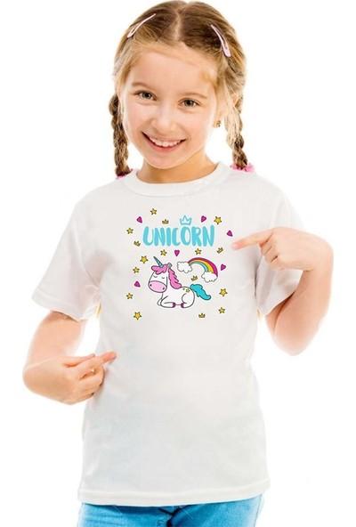 Scubapromo Unicorn Beybi Kız Çocuk Tişört
