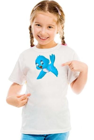 Scubapromo Bird Kız Çocuk Tişört