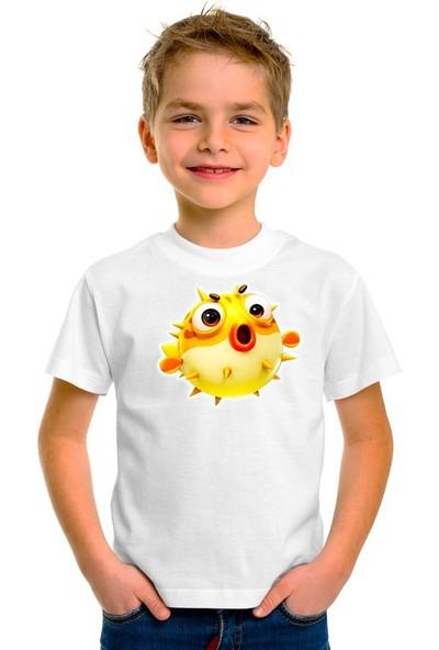 Scubapromo Balon Balığı Erkek Çocuk Tişört