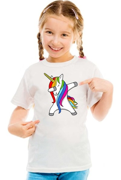 Scubapromo Unicorn E Kız Çocuk Tişört