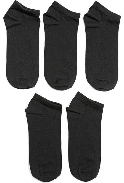 I Cool Basic 5Li Ptk-B Siyah Erkek Çocuk Çorap