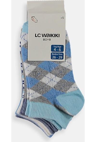 Lc Waikiki Erkek Çocuk Çorap 5'Li