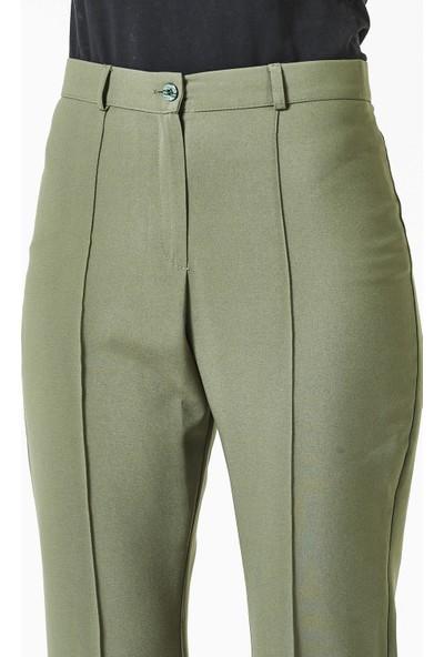 Soral Kadın İspanyol Paça Normal Bel Pantalon
