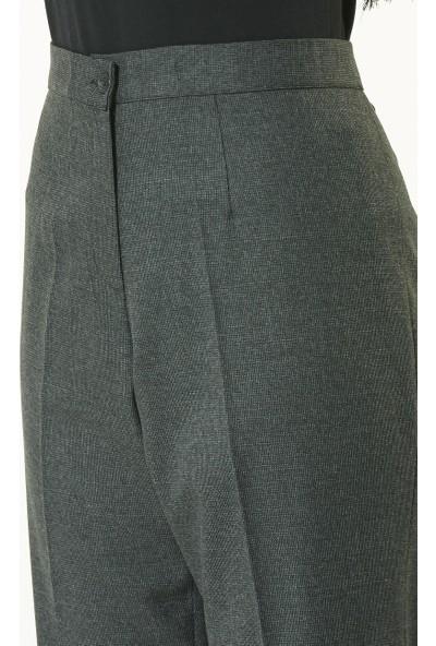 Soral Büyük Beden Pantalon Normal Belcepsiz Kışlık