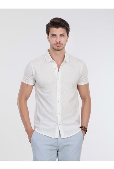 KİP Jakarlı Örme T-Shirt
