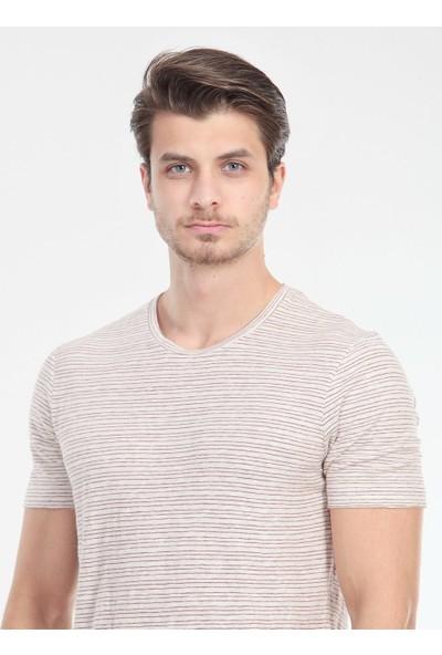 KİP Çizgili Örme T-Shirt