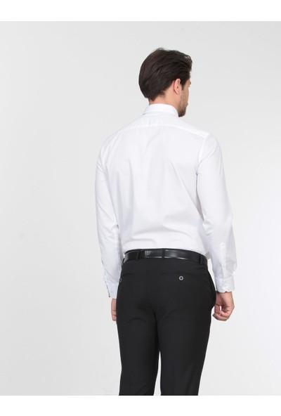 KİP Dokuma Uzun Kollu Gömlek