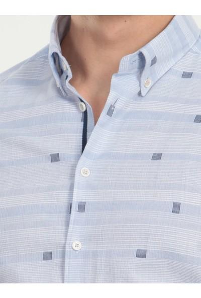KİP Kareli Dokuma Uzun Kollu Gömlek