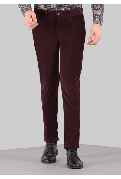 Ramsey Slim Fit Kadife Spor Pantolon