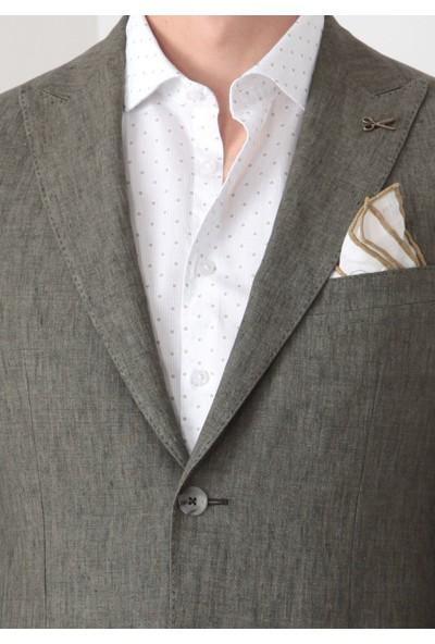 Ramsey Düz Dokuma Takım Elbise