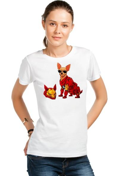 Scubapromo Demir Köpek Pug Tshirt