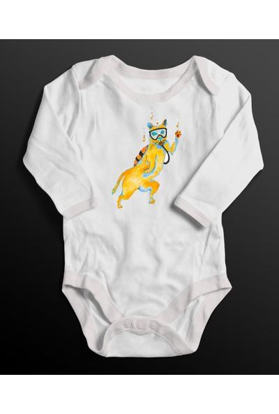 Scubapromo Dalgıç Kedi Tshirt
