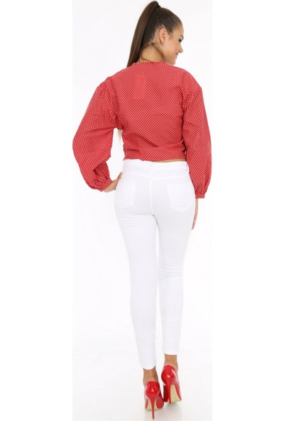 Her Mod'a Bir Moda Beyaz Pantolon