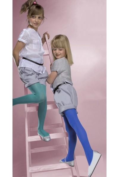 Gabriella Microfibre Lacivert Çocuk Çorabı g740