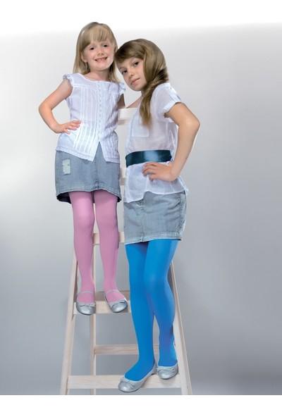 Gabriella Mela Fuşya Fitilli Çocuk Çorabı g747