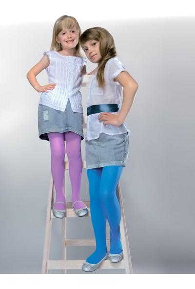 Gabriella Mela Lila Fitilli Çocuk Çorabı g747