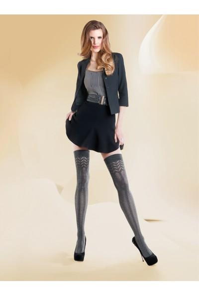 Gabriella Gri 200 Den Pamuklu Külotlu Çorap Cashmir 101 Melange
