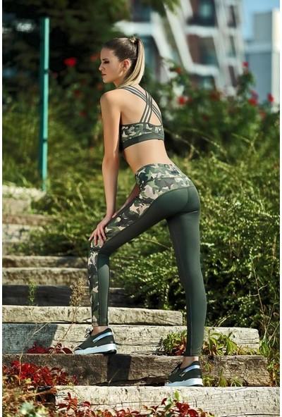 Gallipoli Gallipoli Kadın Yarım Atlet Tayt Takım Mgp9334