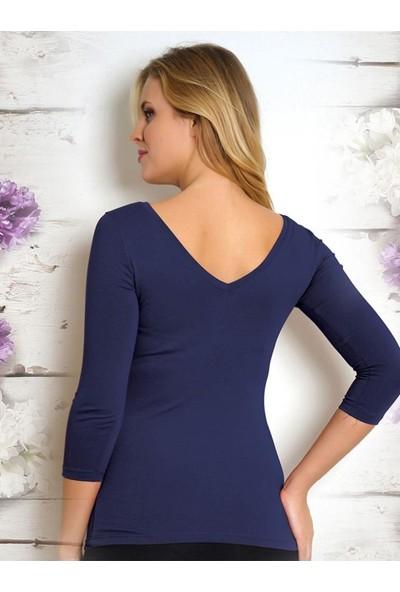 Piaff Kadın Penye Bluz Pf 3916