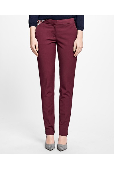 Brooks Brothers Kadın Red Fleece Streç Pantolon