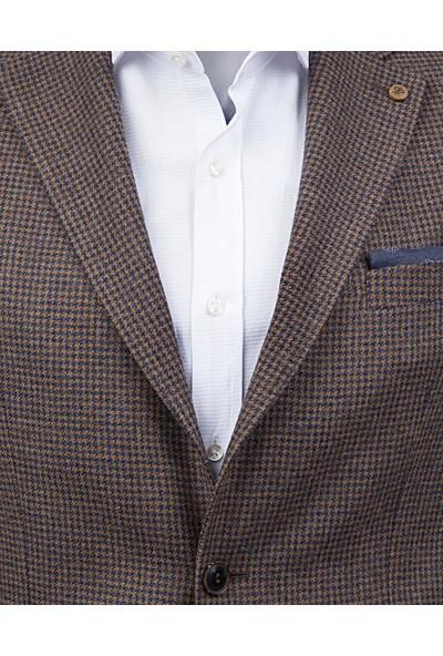 D's Damat Regular Fit Tarçın Ceket Kumaş