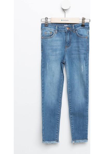 Defacto Kız Çocuk Skinny Fit Denim Pantolon