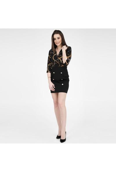 Ayhan Kadın Elbise 61210