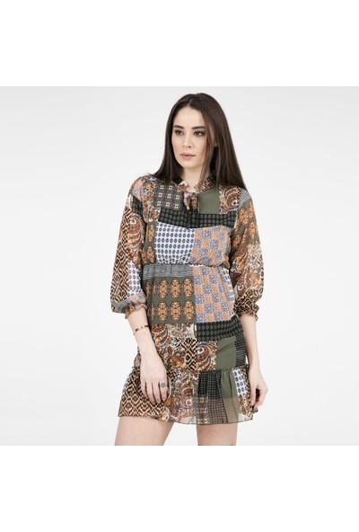 Crep Kadın Elbise 4219411
