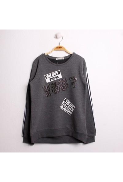 Toontoy Kız Çocuk Sweatshirt You Baskı