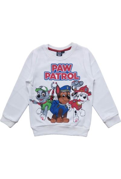 Dobakids Paw Patrol Baskılı Erkek Çocuk Sweatshirt